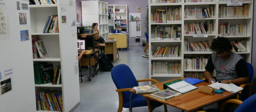 The Hope Street campus library